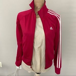 Adidas Track Jacket Hot Pink